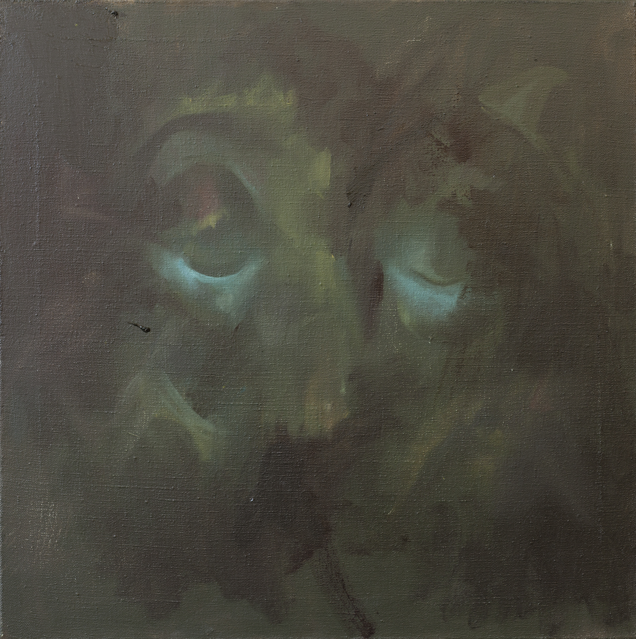 Maskmess, Oil on canvas, 60x60cm, 2012
