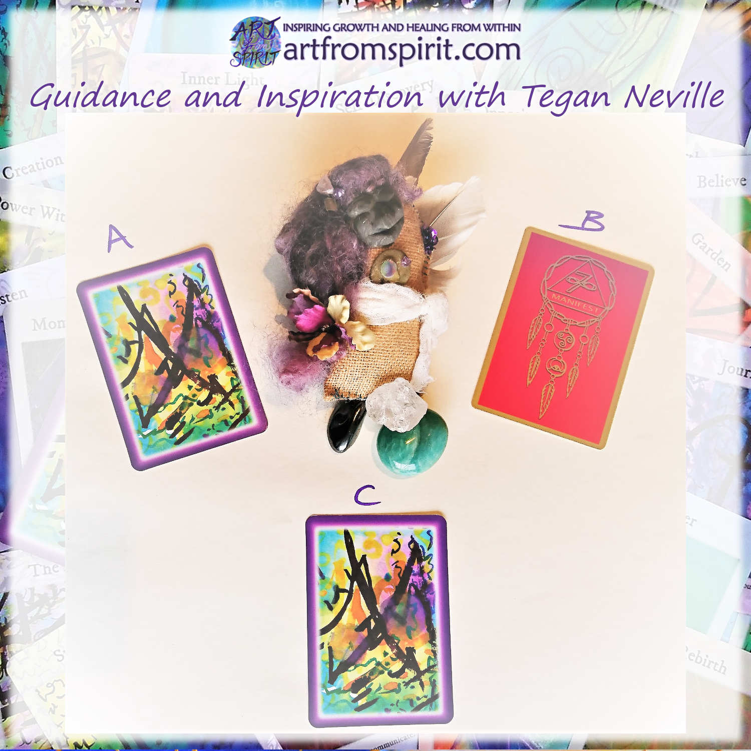 Weekly Guidance from the Fairy Garden - Which card is calling to you?
