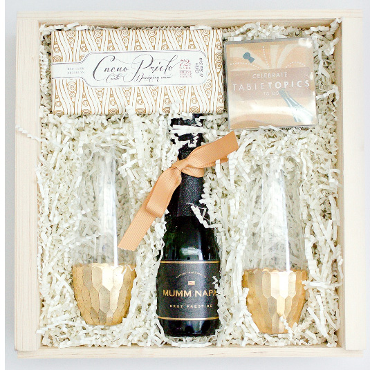 """- Bliss & Bale https://www.blissandbale.com/For the personalized wow factor in the world of gifts and amenities, B&B specializes in premium gifts that are """"beautifully made, thoughtfully packaged and visually stunning"""" (their marketing words but true). Packaged to perfection, and accompanied by a hand-written note, each and every box is a gift to be remembered. Bliss & Bale is trusted by their clients to keep up with the latest trends, while sourcing the best products and brands from around the world. Not mass market stuff. In other words, they don't mess around. If you have some high-end recipients, ask for a proposal."""