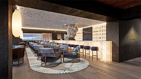 Nobu Hotel Barcelona - Nobu Hotel Barcelona will open its doors in July 2019, with 100 rooms (and will have a total of 255 rooms by the end of 2019), 7 meeting venues including 5 breakout rooms, an 1800 square foot ballroom an auditorium for up to 100 and a small Spa. It will also soon open its signature restaurant Nobu, on the 23rd floor with panoramic views of Barcelona. Cool.