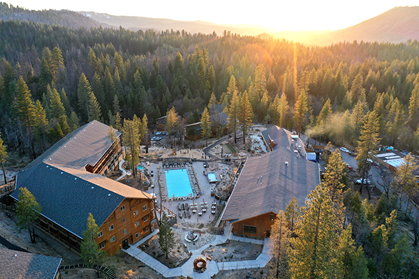 Exclusive use of the newly-built Rush Creek Lodge at Yosemite
