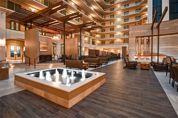 fantastic transformation for the embassy suites milpitas - check out the group deals