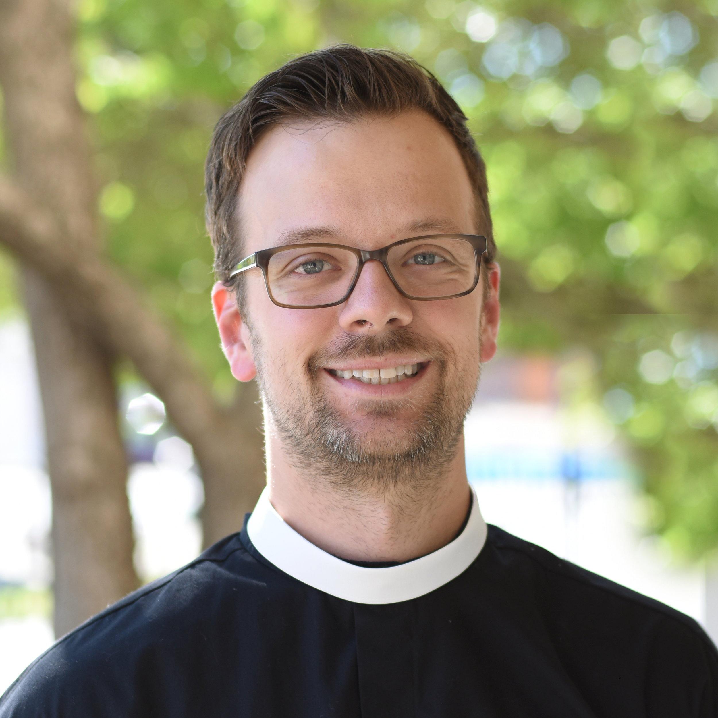 The Rev.Chris Myers- Associate Rector - Chris Myers serves as the Associate Rector of St. Bartholomew's Anglican. He graduated from Redeemer Seminary with an M.Div. in 2013 and was ordained as a priest in the Anglican Mission in May of 2015. He is currently doing doctoral work in theology at Durham University (UK). He and his wife Morgan have two delightful daughters, Eleanor and Rowan.Email - chris@stbartsdallas.org