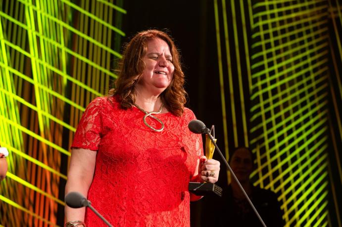Pictured: Last year's Attitude ACC Supreme Award winner Martine Abel-Williamson