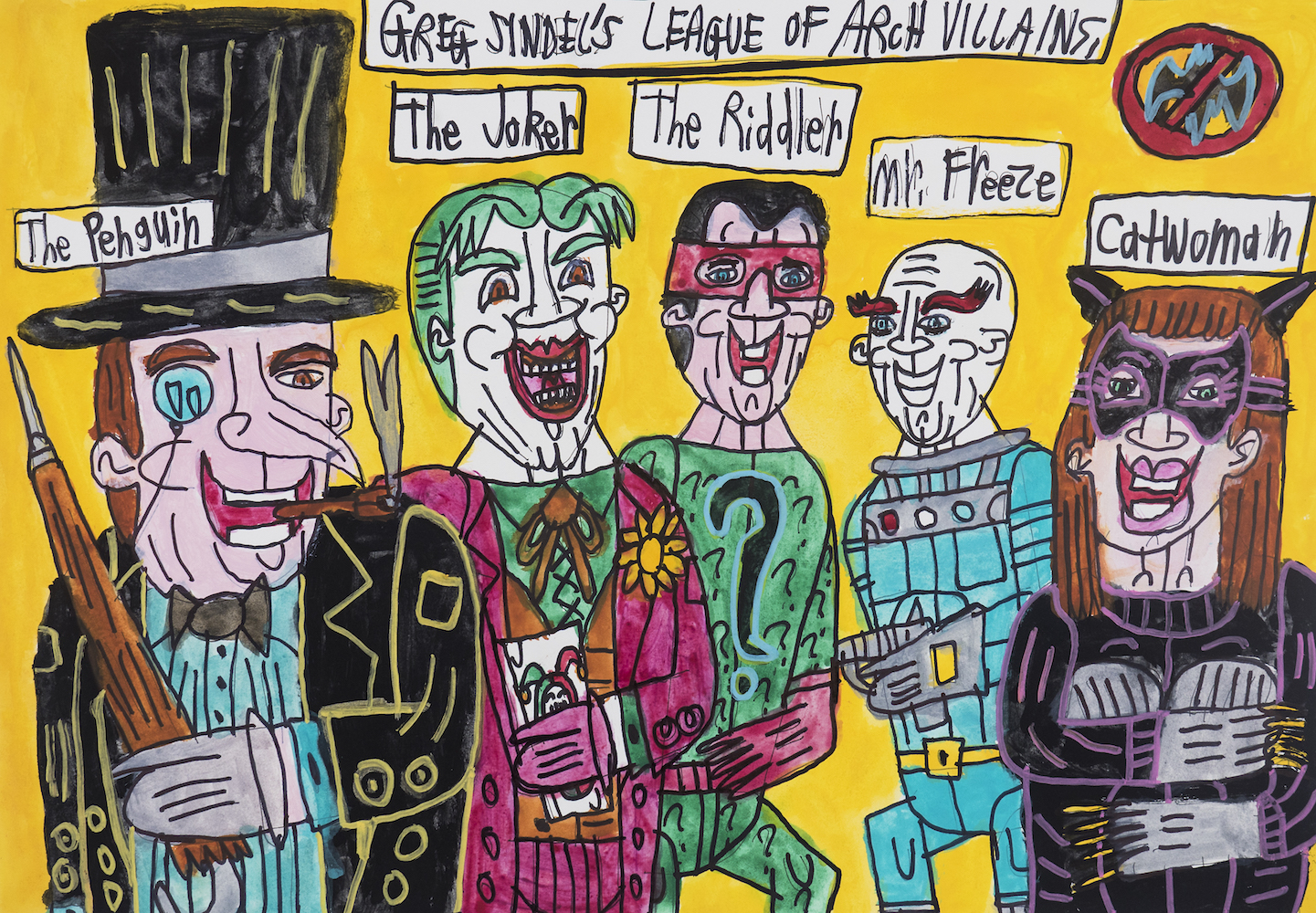 Greg Sindel_Greg Sindel's League of Arch Villians.jpg
