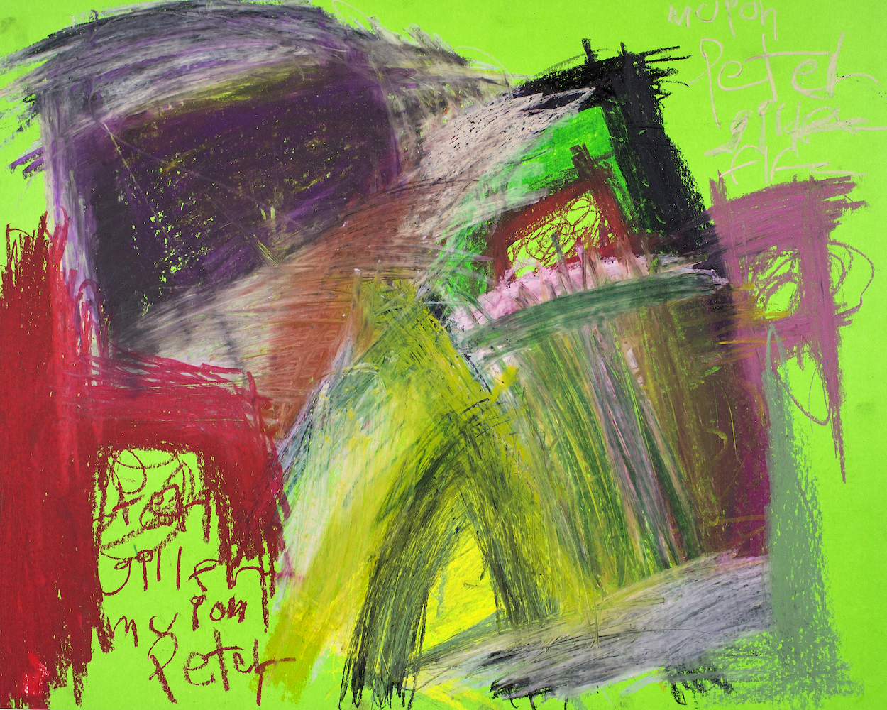 Peter Dudding - Portait of Gillean on Green.jpg