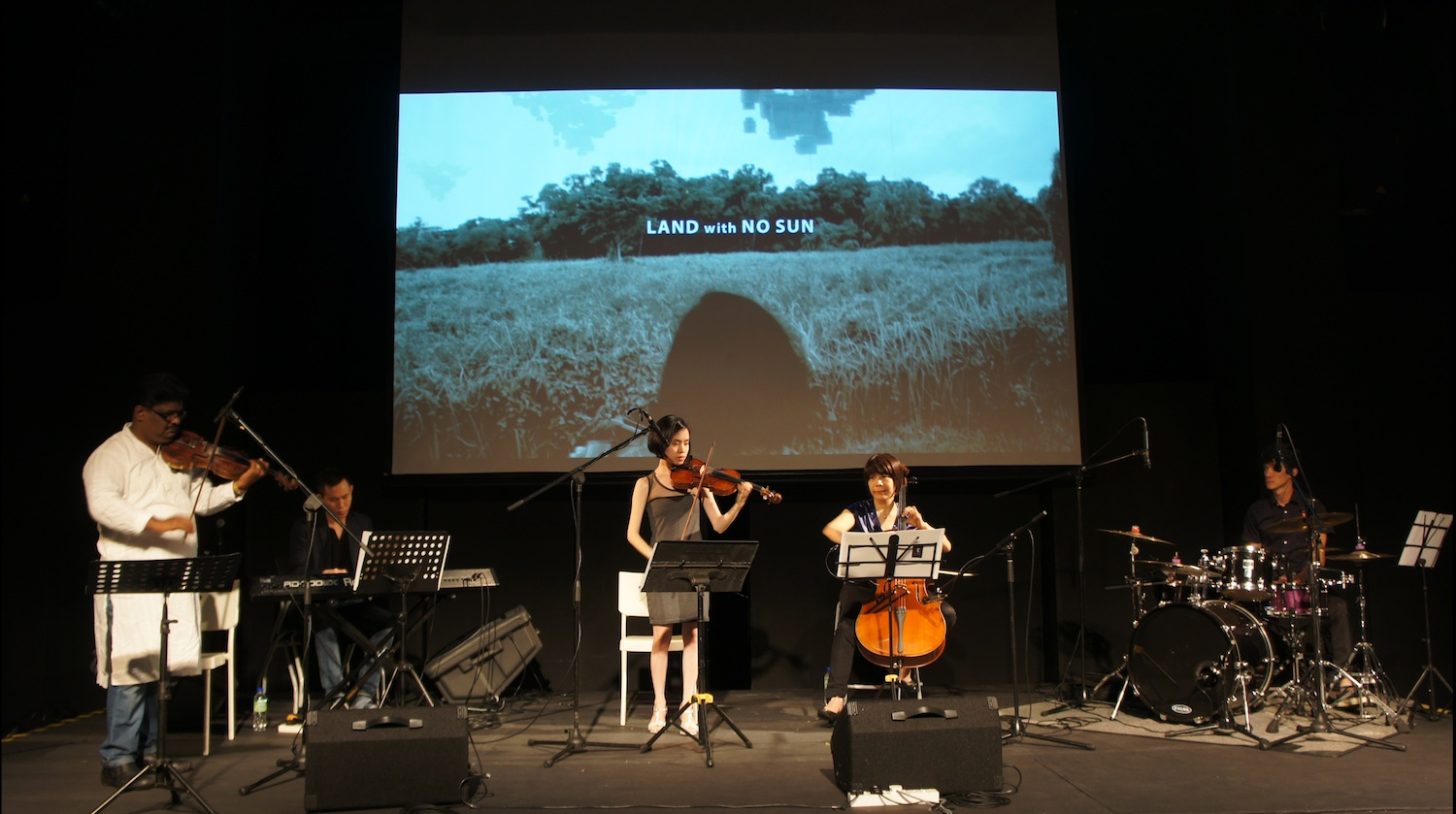 LAND with NO SUN : Whispers of the Wind performance at Titian Budaya Festival 2015 in Publika, Kuala Lumpur