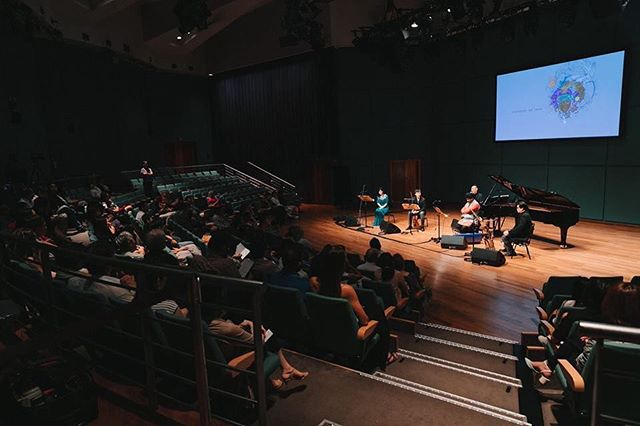Thank you everyone who came for concert Memories of 2055! What a memorable night of music-making! Photo by @dennisquanphotostory #TOensemble #concert #Memoriesof2055 #Singapore #contemporary #music #ensemble #originalmusic #fusion #jazz #classical  #worldmusic #filmscore #cinematic #improvisation #bebop #livemusic #piano #sax #violin #indianviolin #indianmusic #carnaticmusic #orchestral #chambermusic #instamusic #musicians