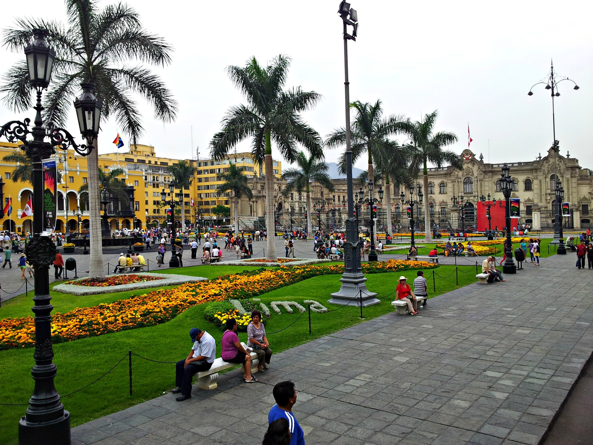 Travel Guide to Peru: Plaza Mayor