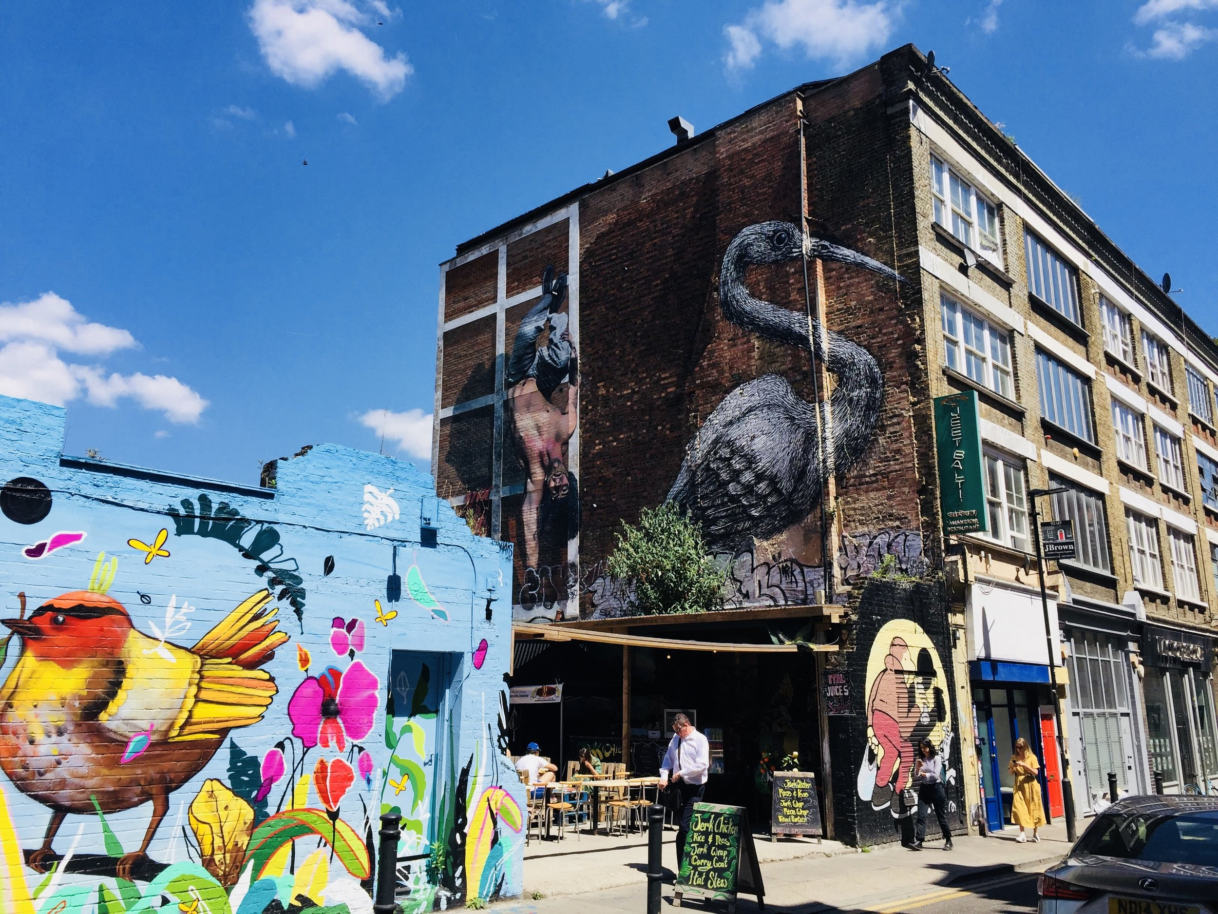 travel guide to london: east end food tour
