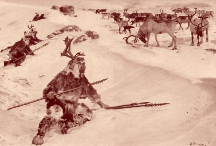 Chasseurs néolithiques -Z. BURIAN