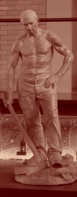 Musée de Roubaix, La Piscine.    Un homme comme nous ?