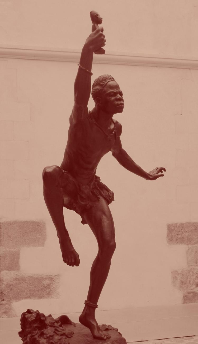 Sorcier africain par Herbert Ward
