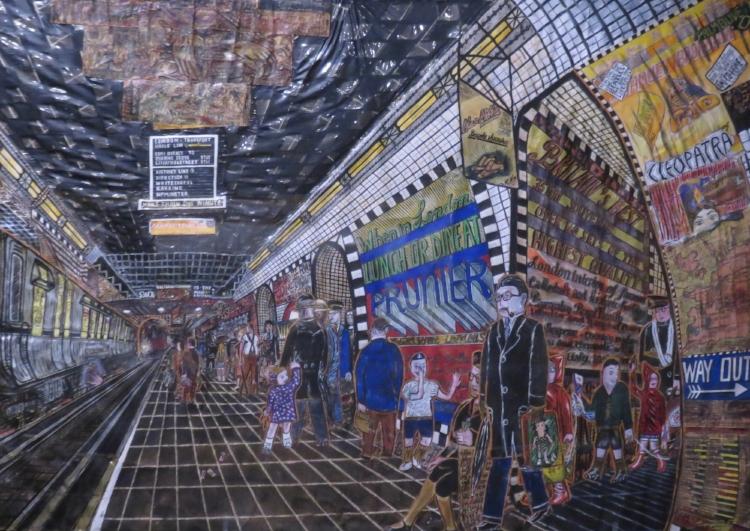 """Willem Van Genk """"Art brut"""" Musée de Lausanne"""