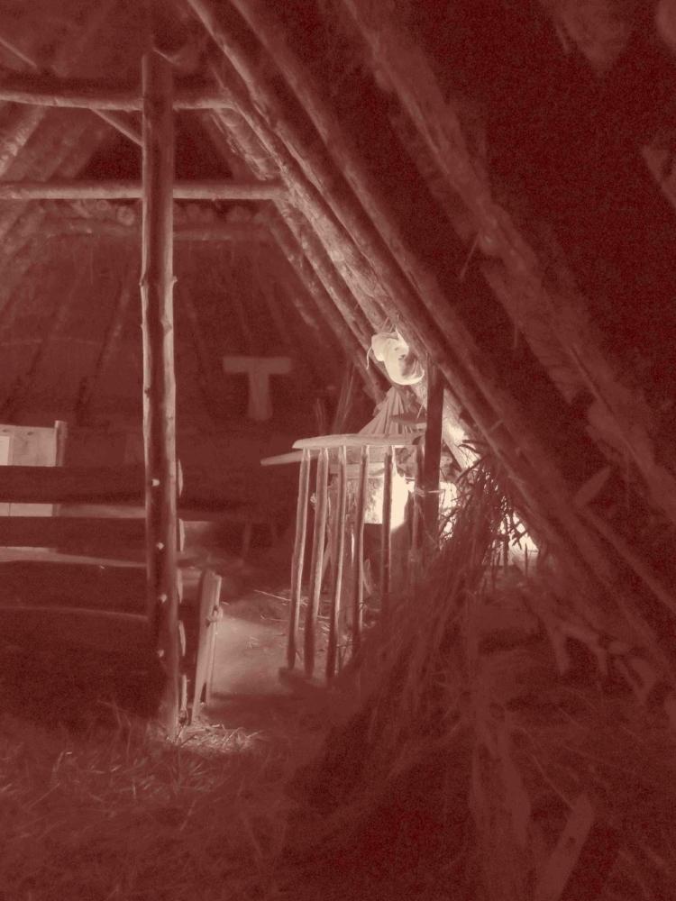 Intérieur de maison paysanne