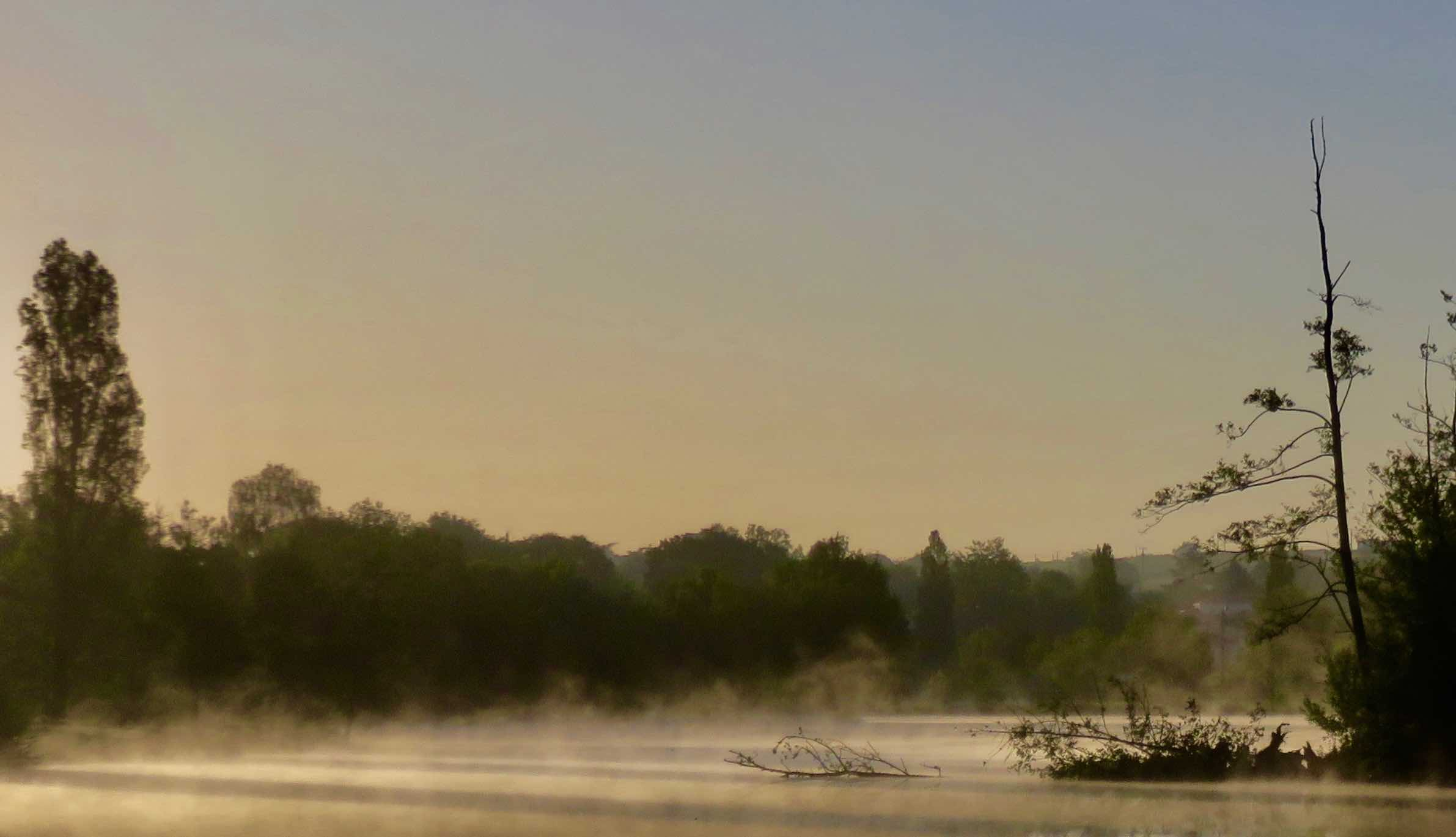 Plan d'eau de Saint-Julien-de-Concelles ce mois de Mai
