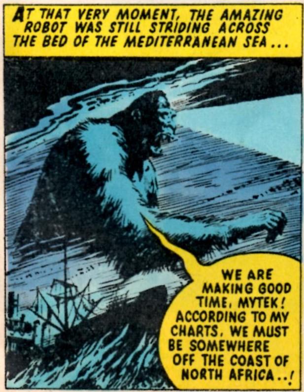 Mytek the Mighty: Tom Tully (writer), Eric Bradbury (artist); reprinted from Valiant