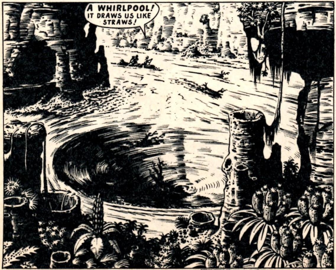 Saber: Dennis McCloughlin (artist); reprinted from Tiger