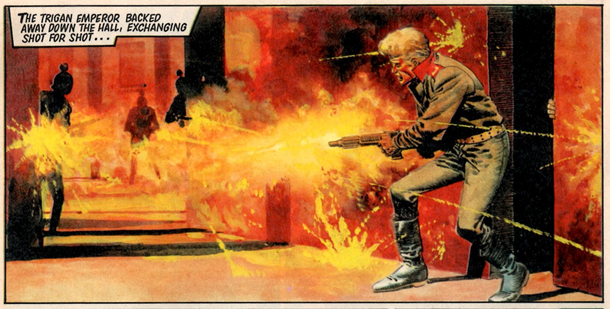 The Trigan Empire: Mike Butterworth (writer), Don Lawrence (artist); reprinted from Look and Learn