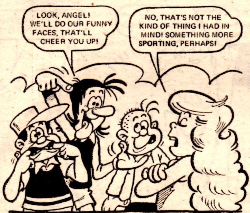 Angel's 'Proper' Charlies (Jackpot, 11 October 1980): Trevor Metcalfe (artist)