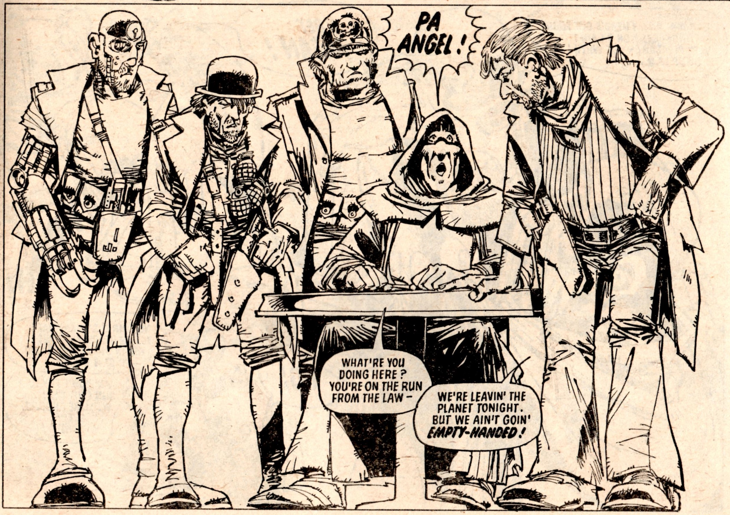 Judge Dredd: The Judge Child part 5 (2000AD, Prog 160, 12 April 1980): John Wagner (writer), Mike McMahon (artist)