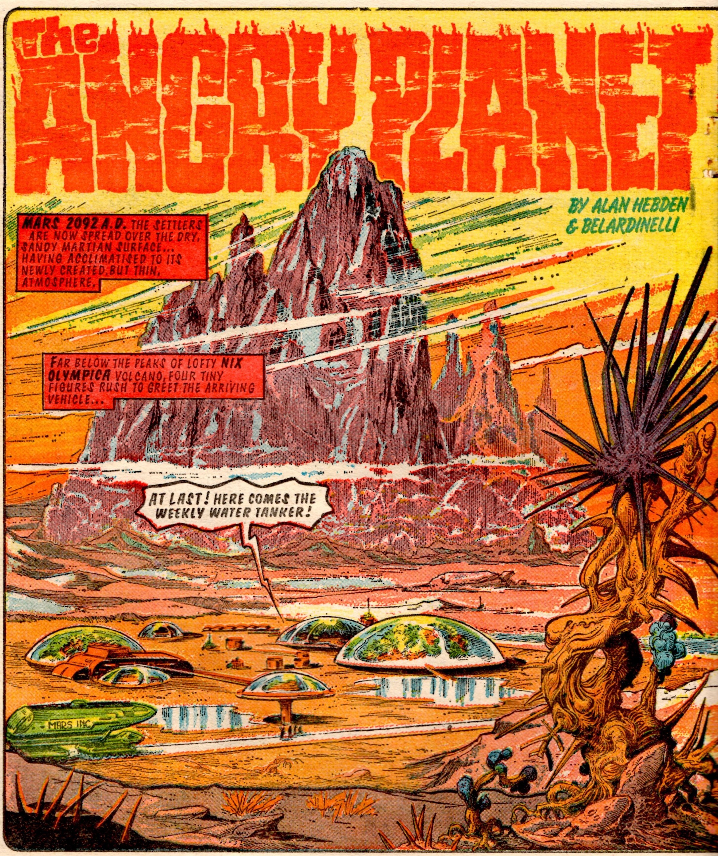 The Angry Planet (Tornado, 24 March 1979): Alan Hebden (writer), Massimo Belardinelli (artist)