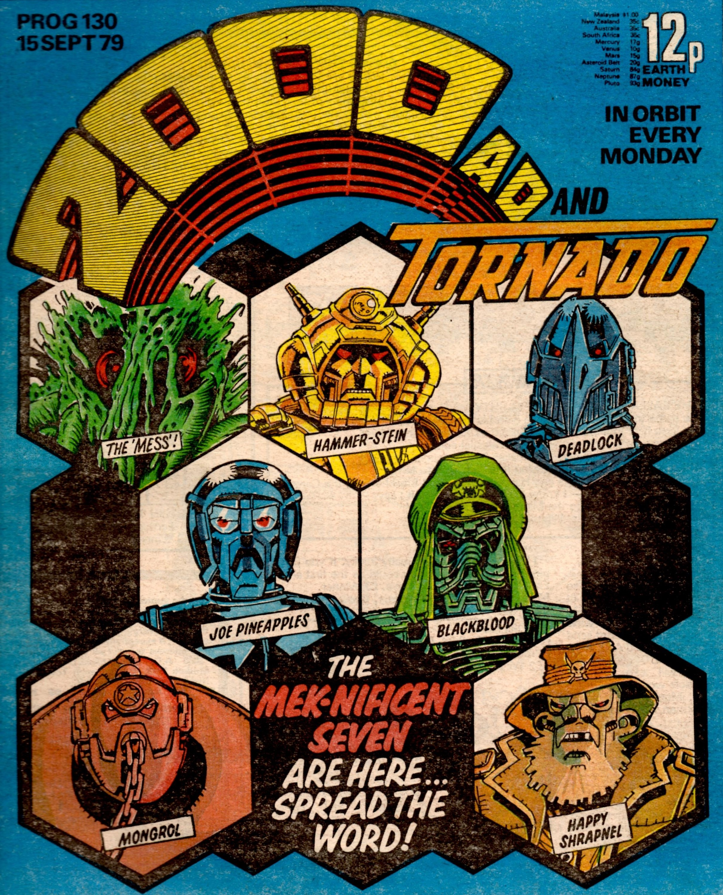 2000AD, Prog 130, 15 September 1979