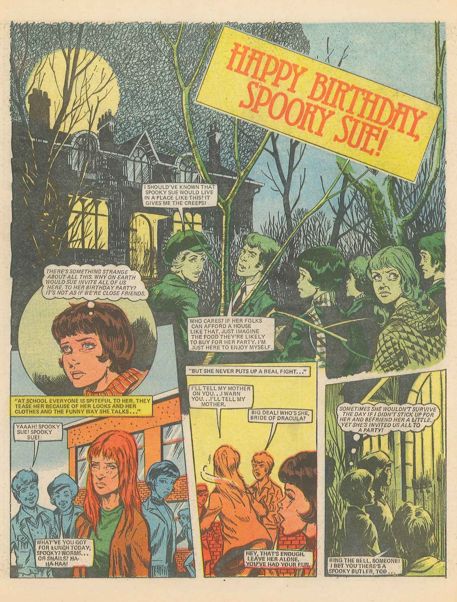Happy Birthday, Spooky Sue!: John Richardson (artist)