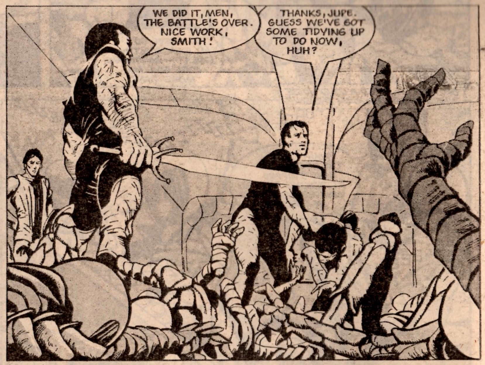 The V.C.s: Gerry Finley-Day and Steve MacManus (writers), Gary Leach (artist)