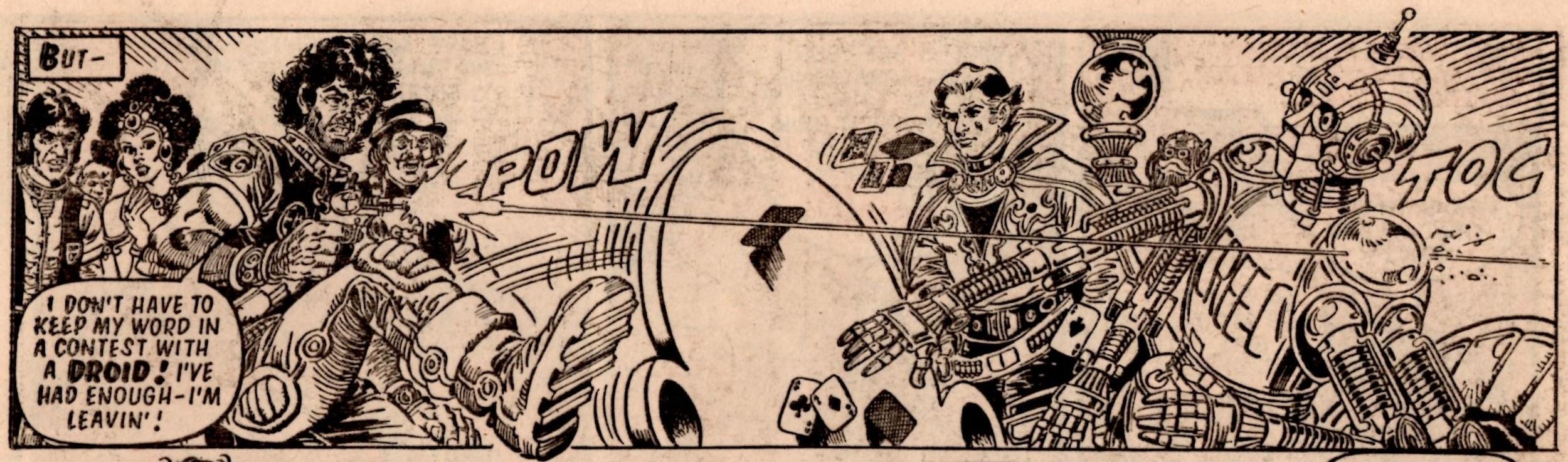 Ro-jaws' Robo-tales: It's a Knockout: Oleh (writer), Jose Casanovas (artist)