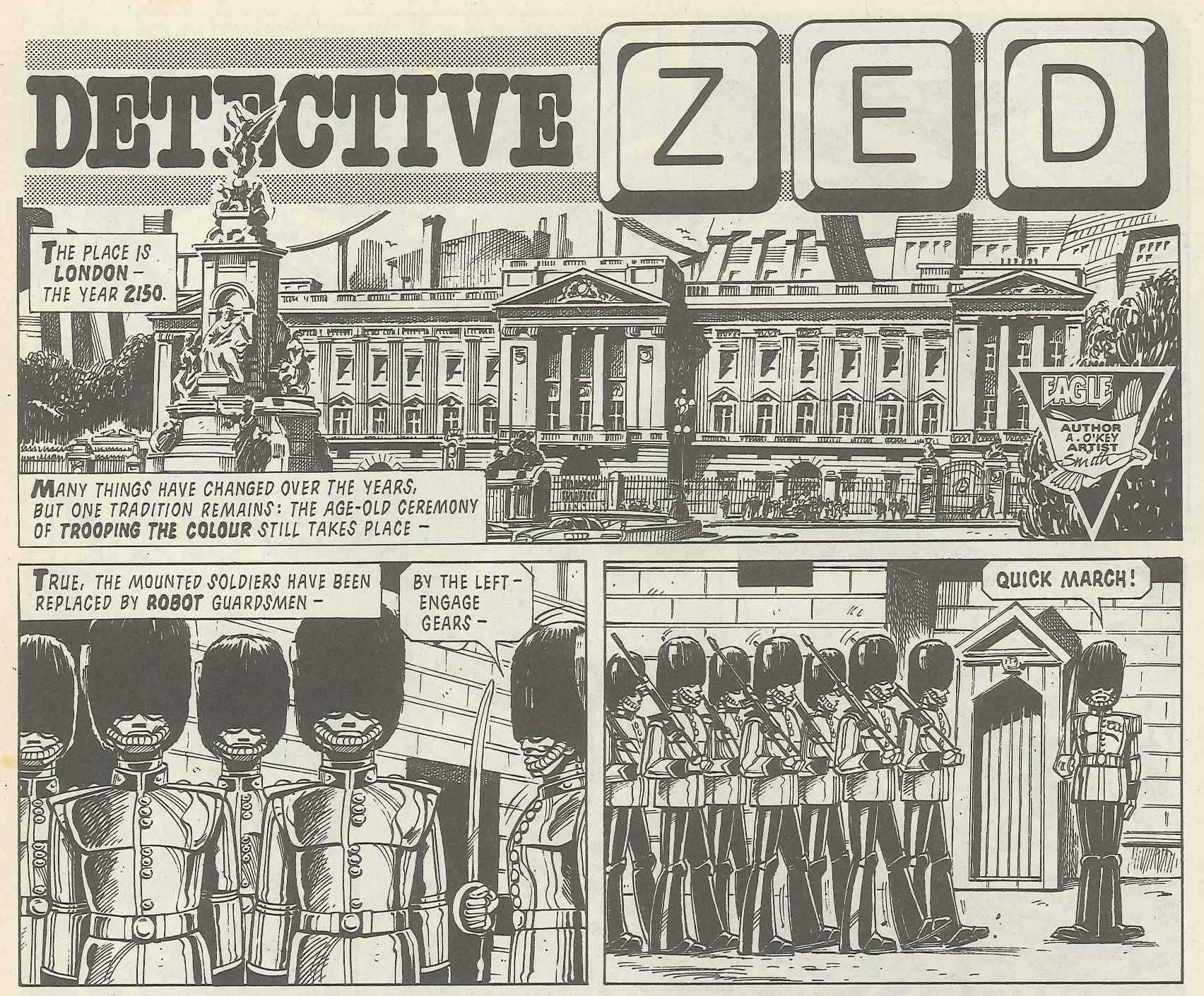 Detective Zed: Alan Grant and John Wagner (writers), Robin Smith (artist)