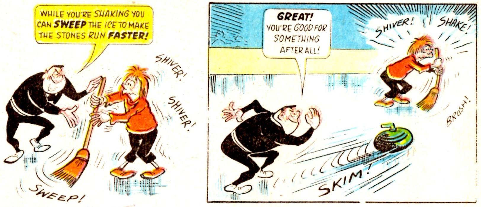 Fit Fred and Sick Sid: Reg Parlett (artist)