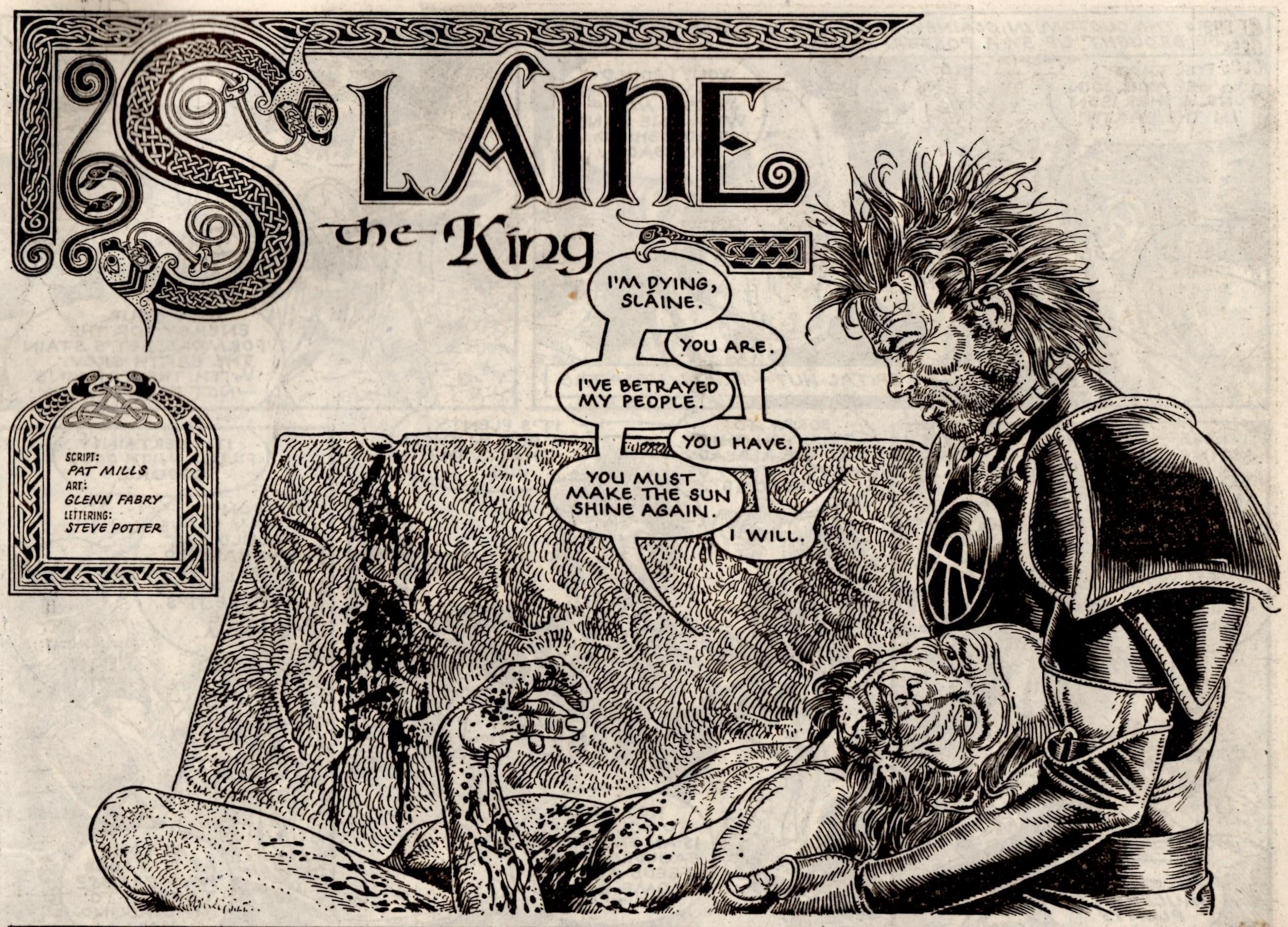 Slaine: The King: Pat Mills (writer), Glenn Fabry (artist)