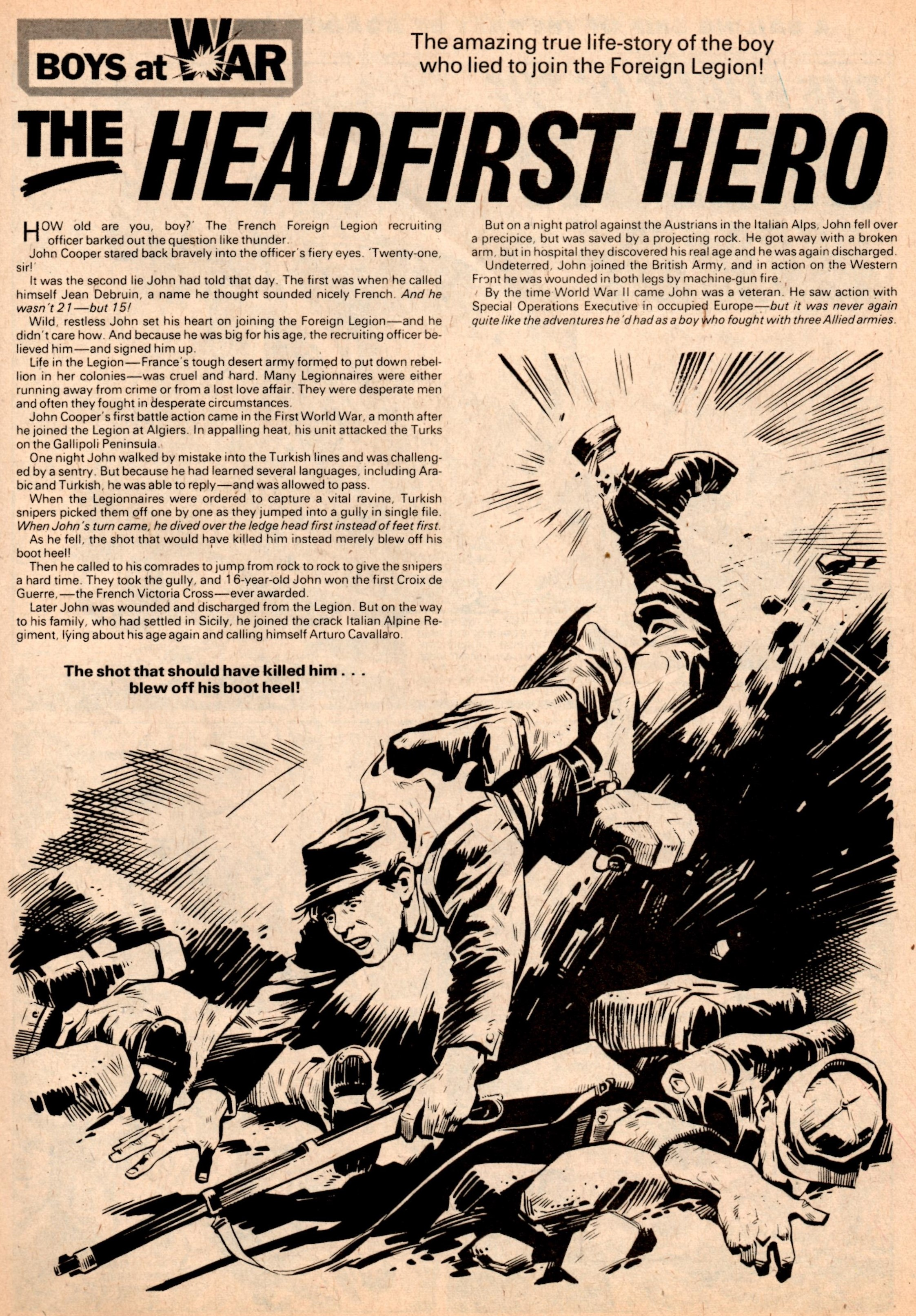 The Headfirst Hero: W Harrington (writer), Mike Western (artist)