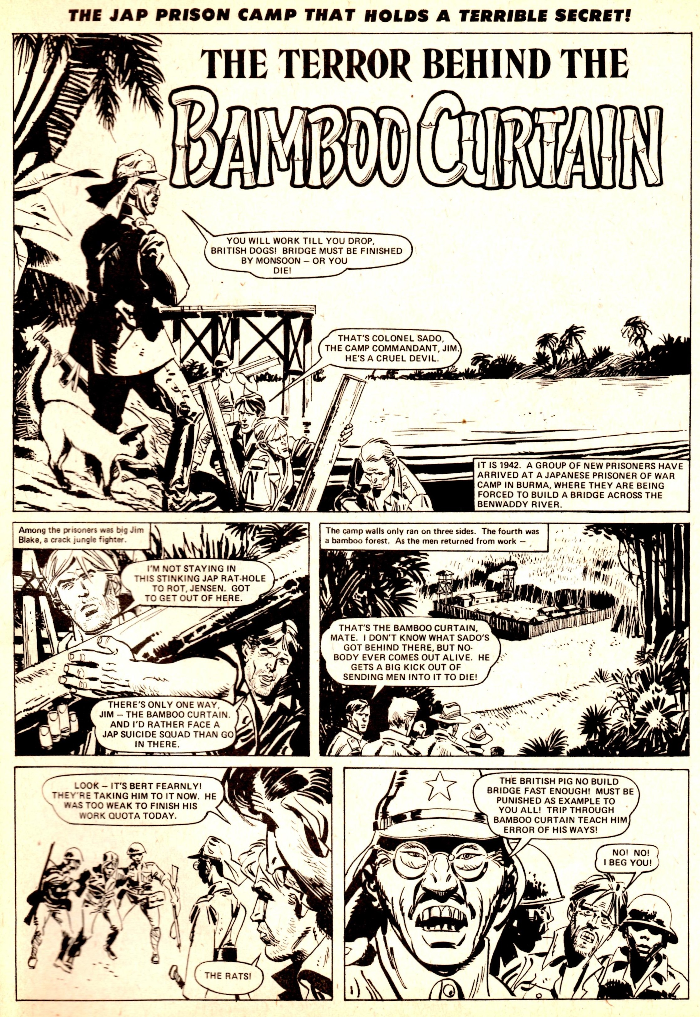 The Terror Behind the Bamboo Curtain: Charles Herring (writer), Giancarlo Alessandrini (artist)