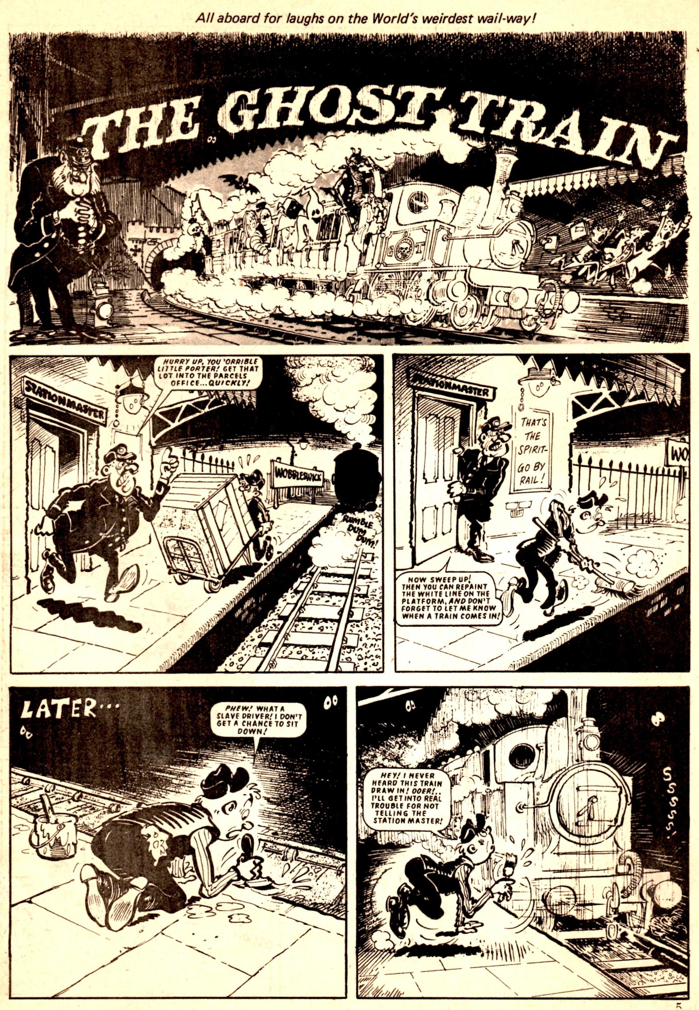 The Ghost Train: Brian Walker (artist)