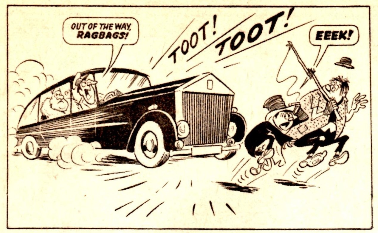 The Upper Crusts and the Lazy Loafers: Reg Parlett (artist)