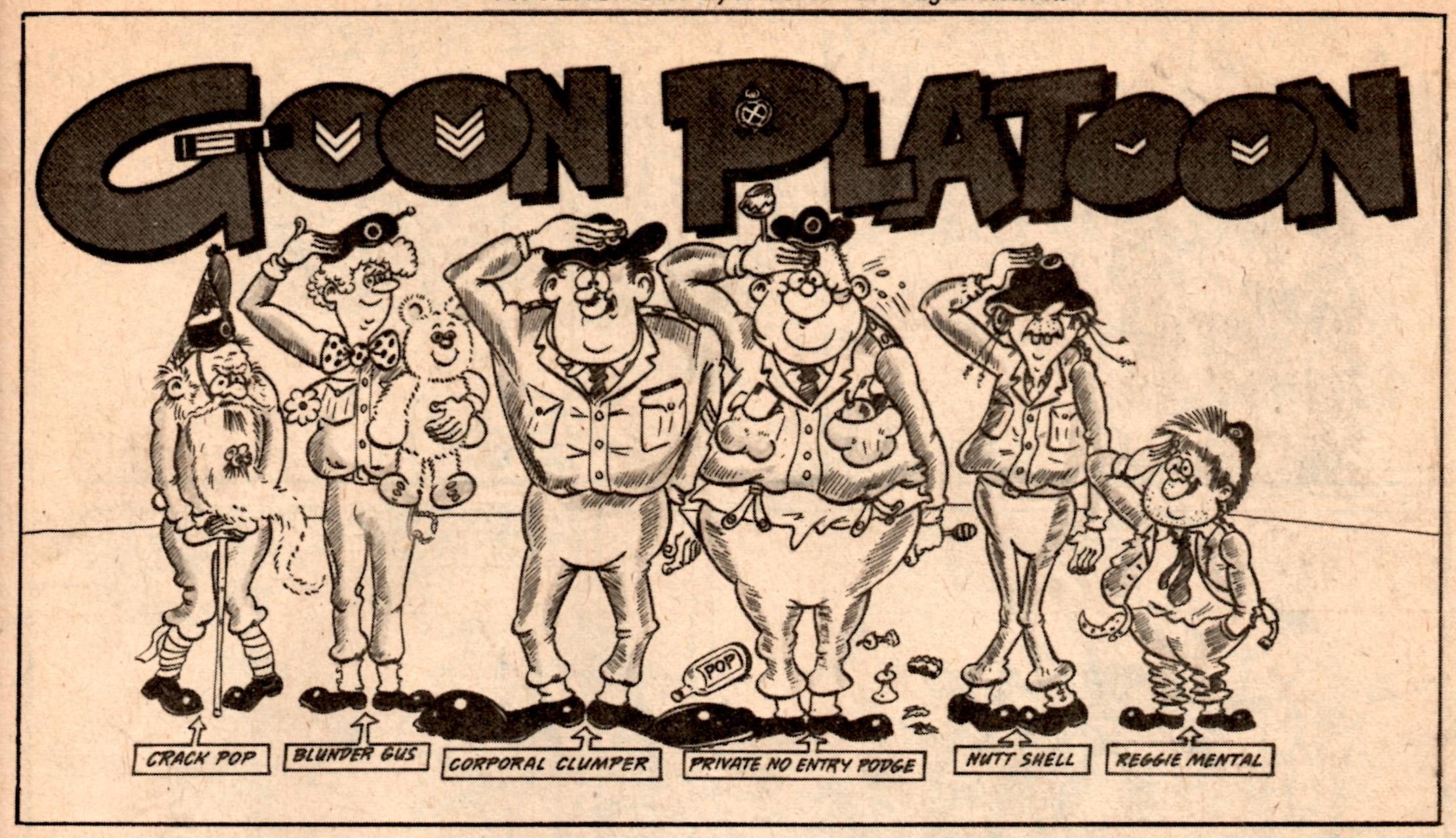 Goon Platoon: artist unknown