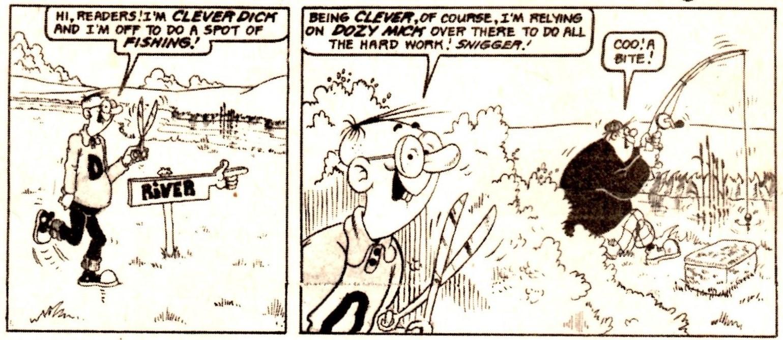 Clever Dick and Dozy Mick: Graham Allen? (artist)
