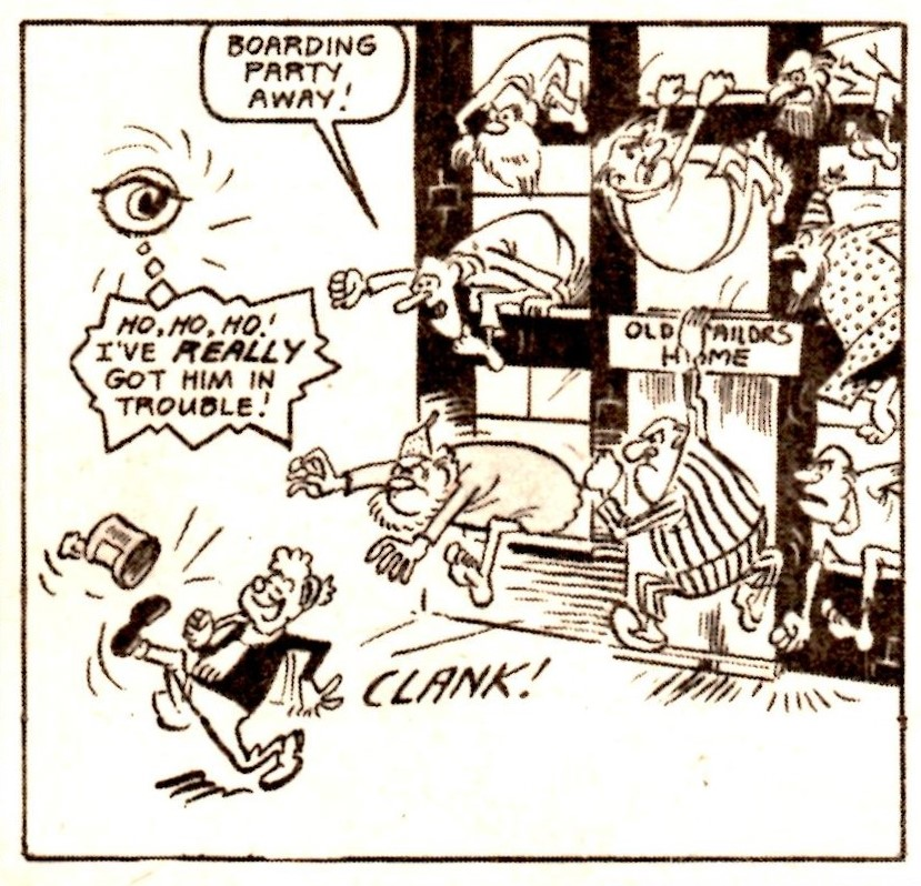 Evil Eye: Reg Parlett (artist)