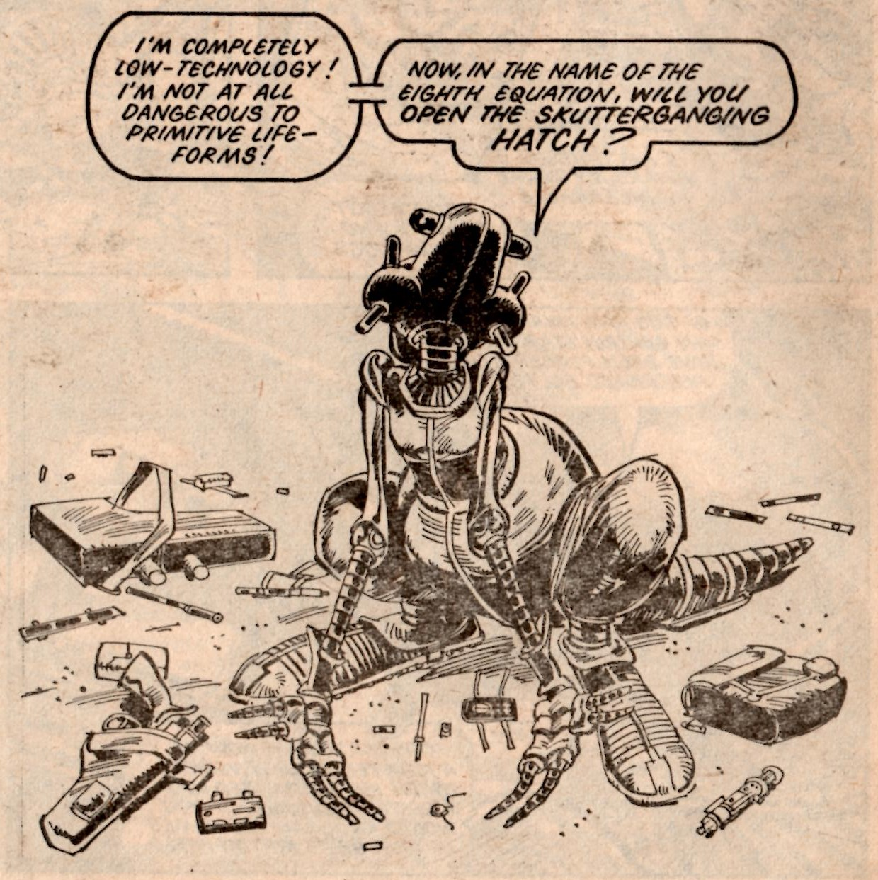 Skizz!: Alan Moore (writer), Jim Baikie (artist)