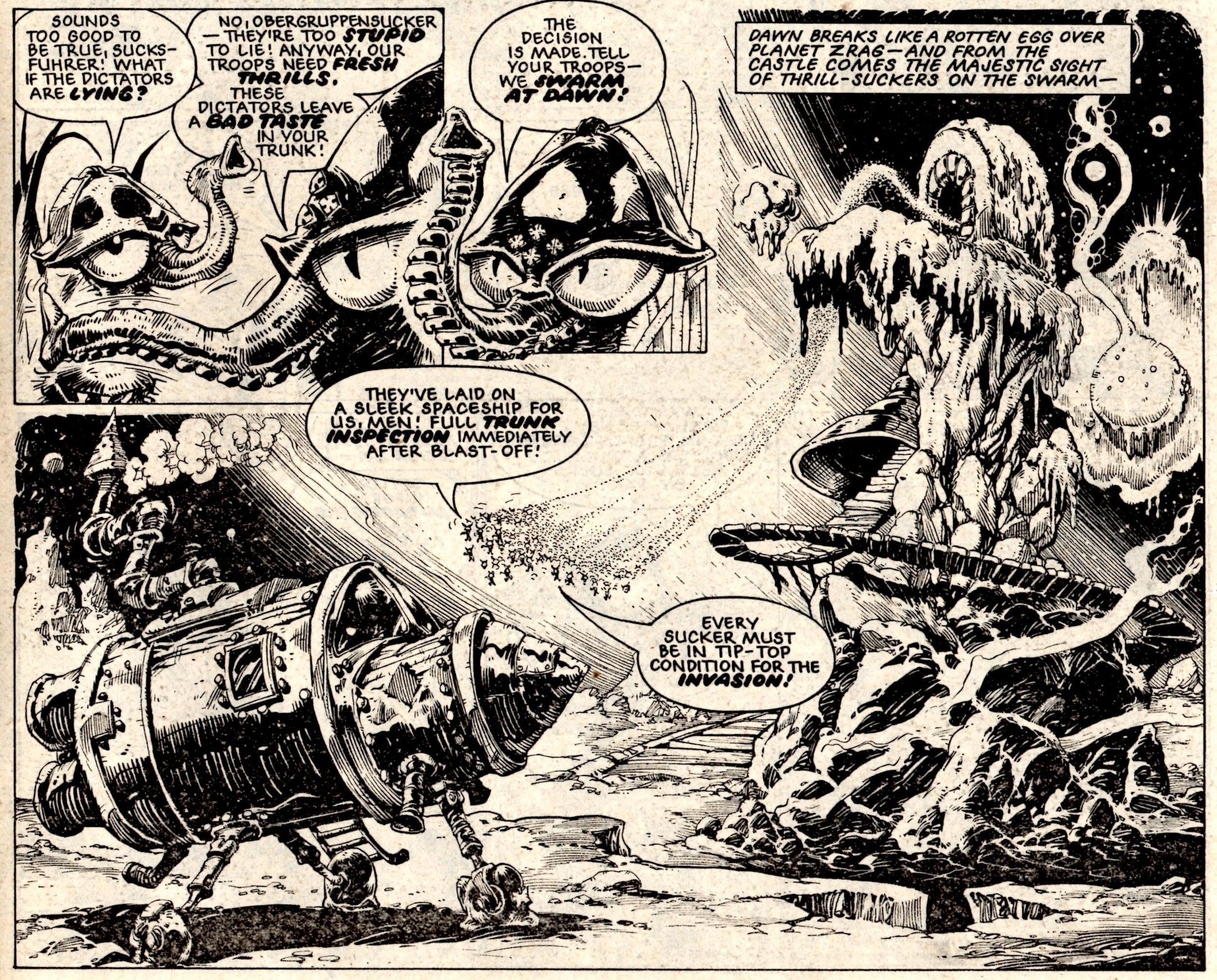 Invasion of the Thrill-snatchers: Massimo Belardinelli (artist)