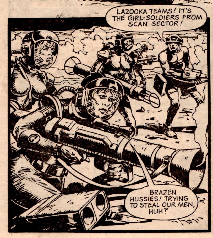Rogue Trooper: Gerry Finley-Day (writer), Cam Kennedy (artist)