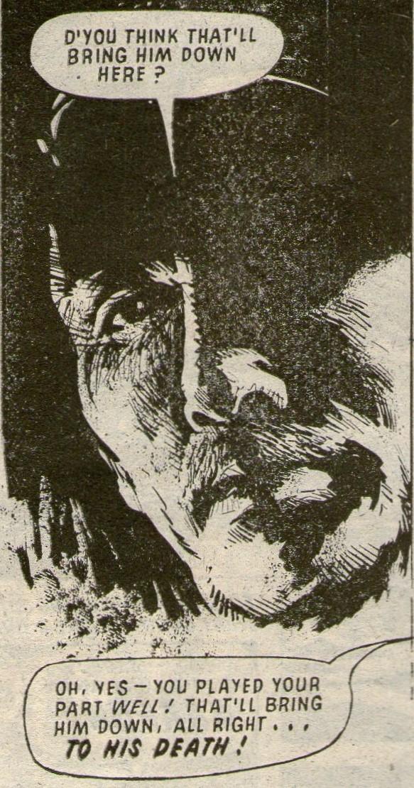 Victor Drago: The Terror of Troll Island: Bill Henry (writer), Mike Dorey (artist)