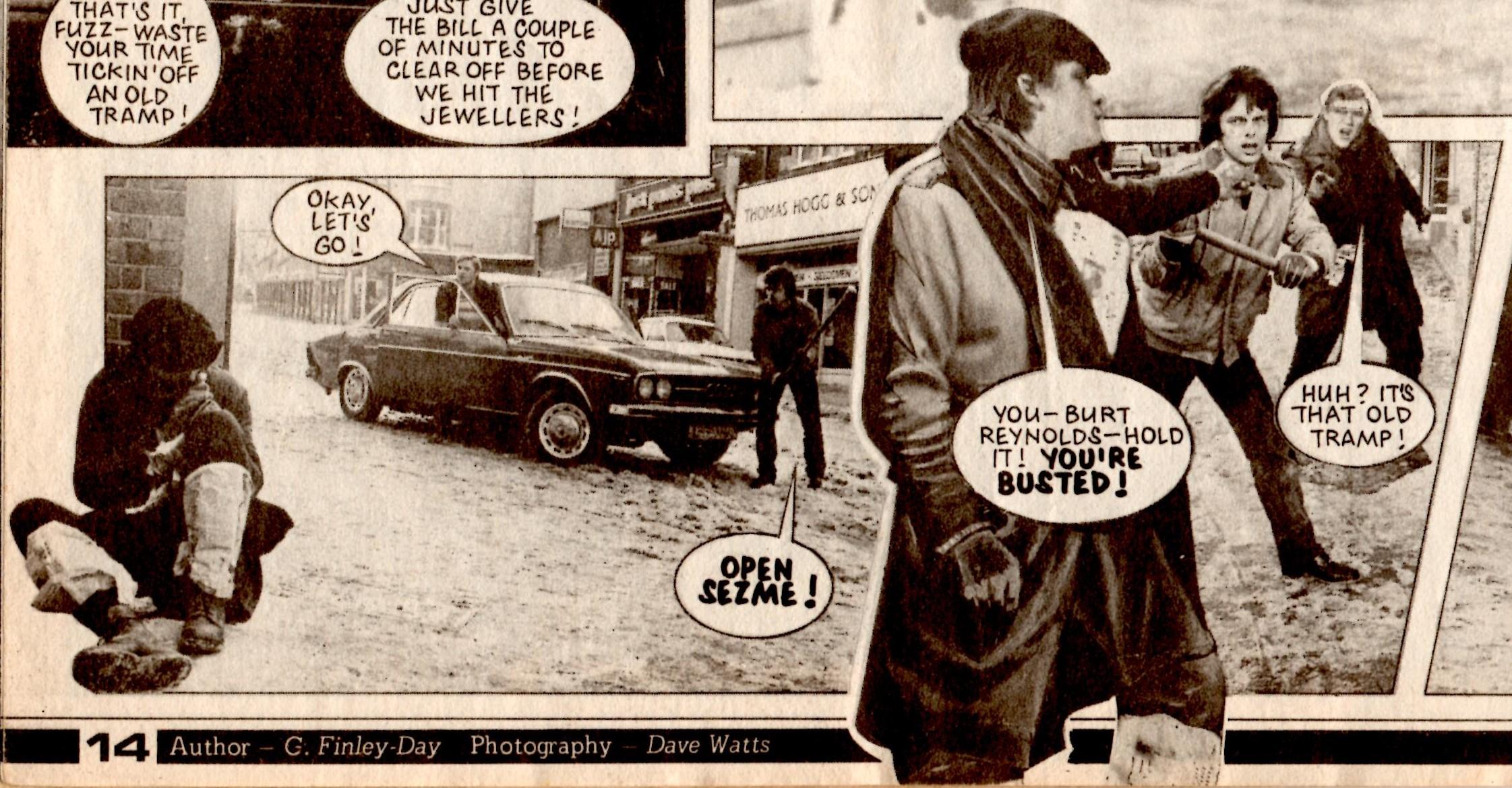 Sgt. Streetwise: Gerry Filnely-Day (writer), Dave Watts (artist)