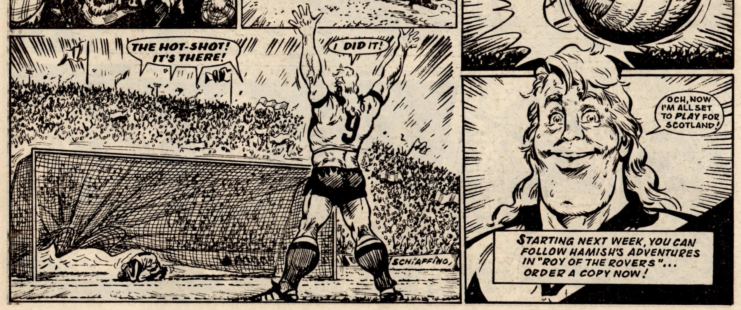 Hot-shot Hamish: Fred Baker (writer), Julio Schiaffino (artist)