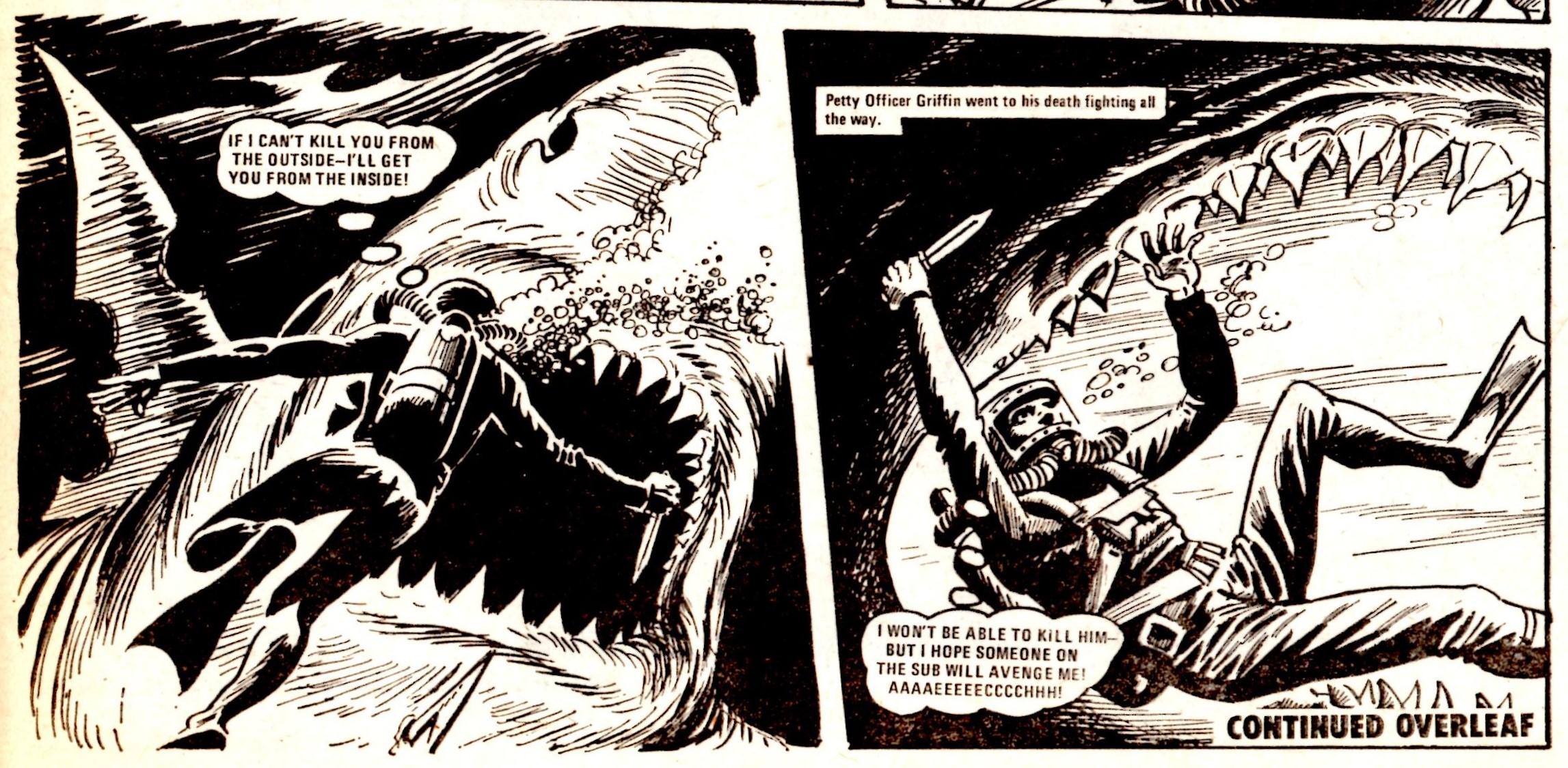 Hook Jaw: Ken Armstrong (writer), John Stokes? (artist)