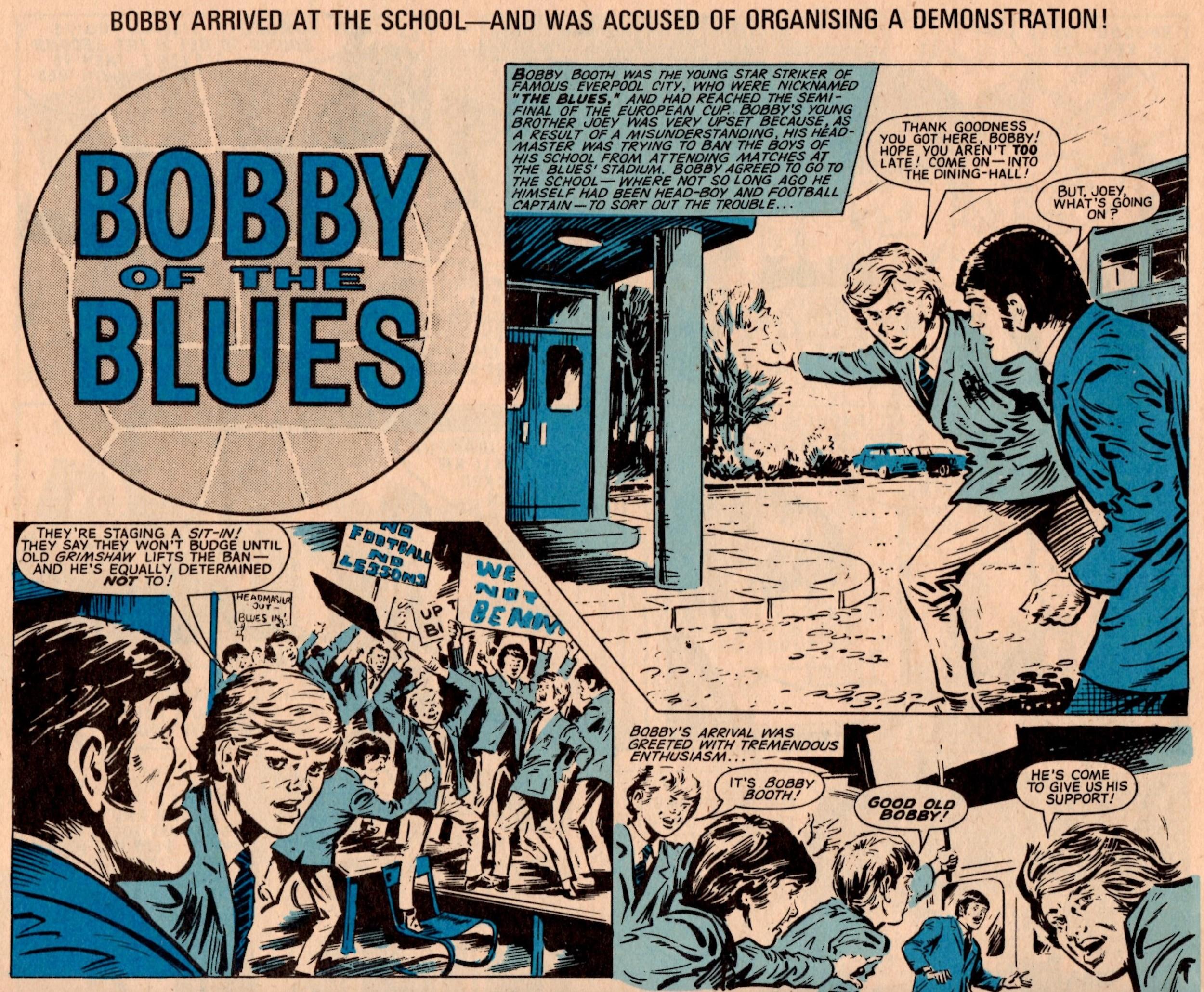 Bobby of the Blues: Tony Harding (artist)