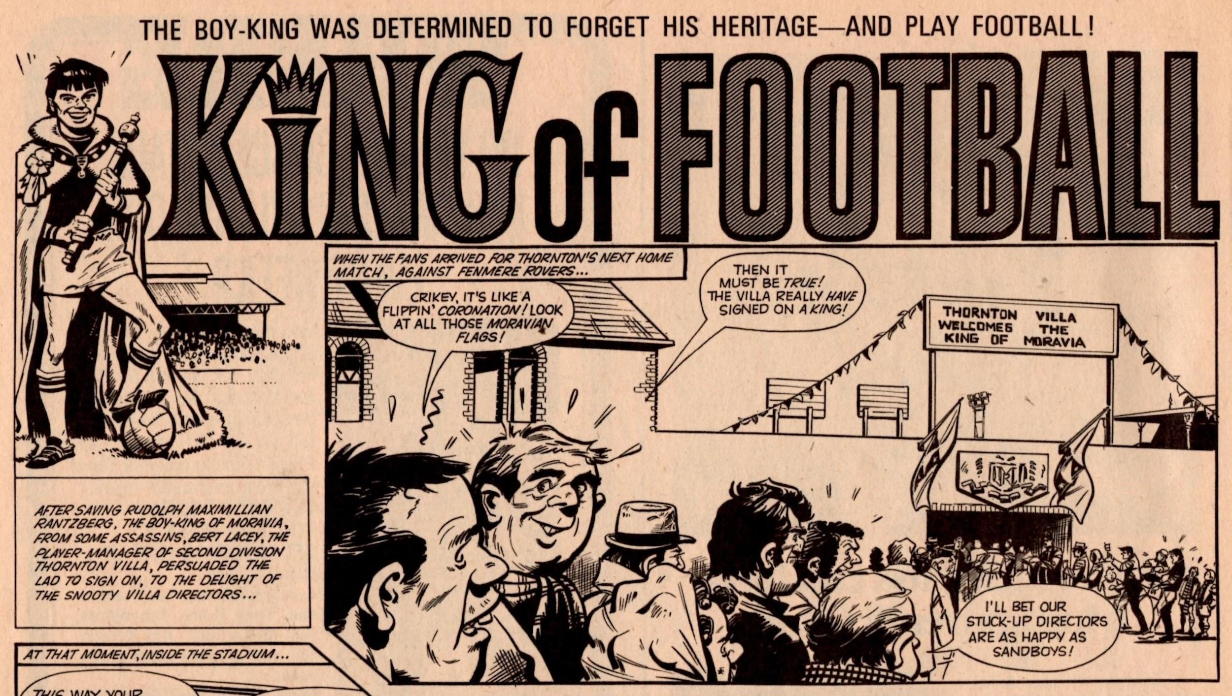 King of Football: Mike Western (artist)