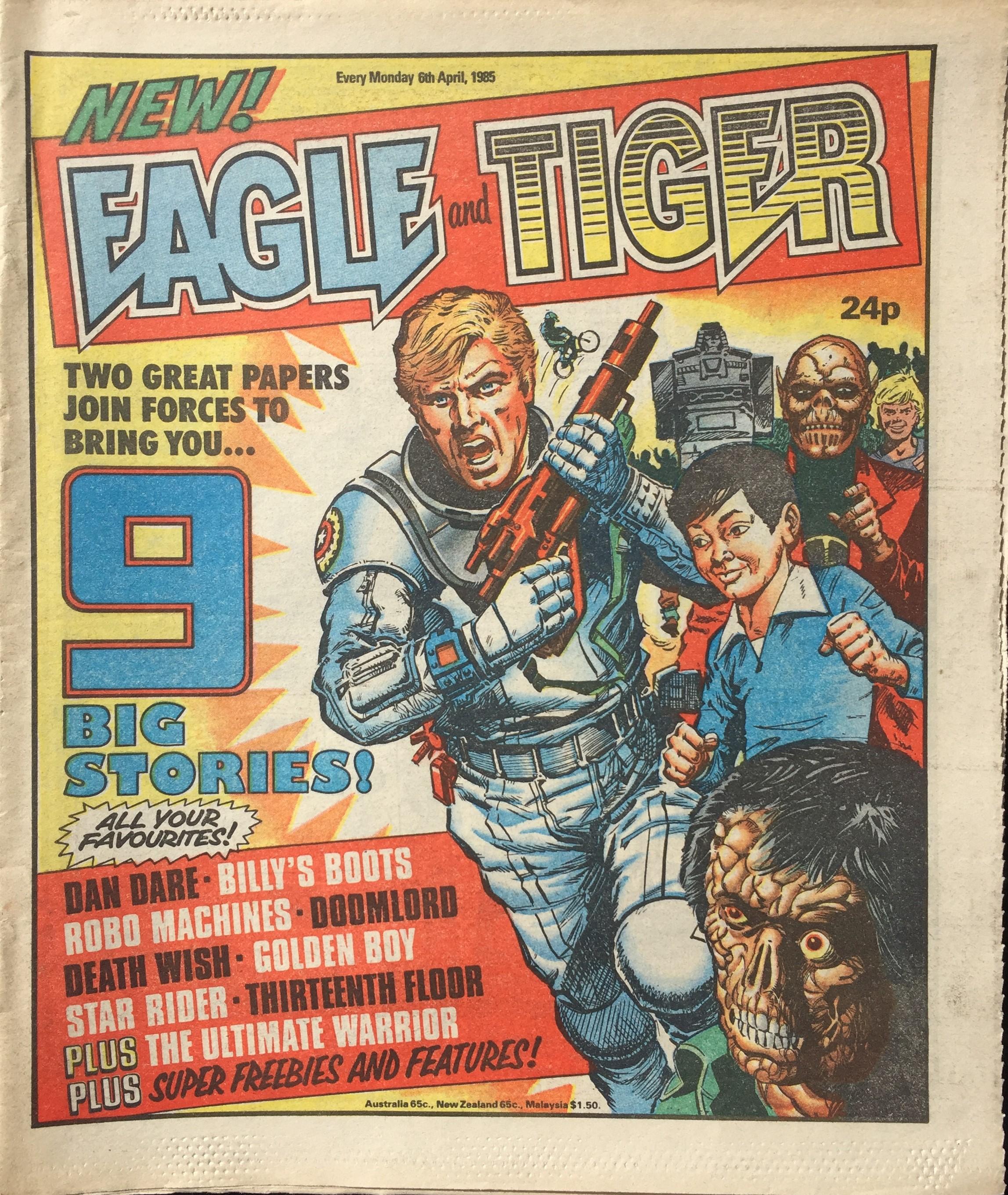 Cover artwork: Eric Bradbury?